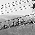Golden Gate Bridge Work by Underwood Archives