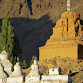Ladakh, India Religious Structures by Jaina Mishra