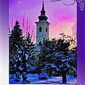 Christmas Card 23 by Nina Ficur Feenan