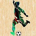 Soccer by Marvin Blaine