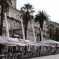 Views Of Split Croatia by Richard Rosenshein