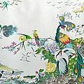 100 Birds by Min Wang