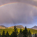 100801a-14 Two Medicine Rainbow by Albert Seger