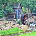 Sixes Mill On Dukes Creek - Square by Gordon Elwell