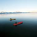 A Photographer Photographs A Kayaker by Jose Azel