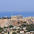 Acropolis Of Athens by George Atsametakis