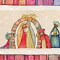 Christmas Nativity Scene by Vita Masi