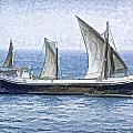 Fishing Vessel In The Arabian Sea by Ashish Agarwal
