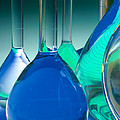 Laboratory Glassware by Charlotte Raymond