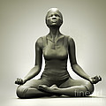 Meditation Pose by Science Picture Co