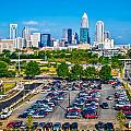 Skyline Of Uptown Charlotte North Carolina by Alex Grichenko