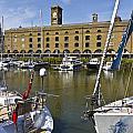 St Katherines Dock London by David Pyatt