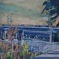 110 Freeway South II by Richard  Willson