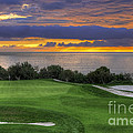 11th Green - Trump National Golf Course by Eddie Yerkish