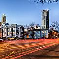 Early Morning In Charlotte Nc by Alex Grichenko