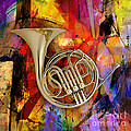 French Horn by Marvin Blaine