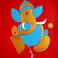 12 Shubham - Auspicious Ganesha by Kruti Shah