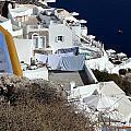 Views From Santorini Greece by Richard Rosenshein