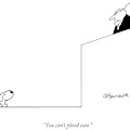 You Can't Plead Cute by Charles Barsotti