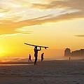 12002 Orange Beach Sunset by Joe Boyington