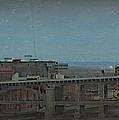 12th Street Bridge  Kansas City Missouri by Elizabeth Sullivan