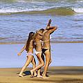Beach People by Girish J
