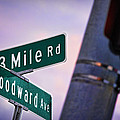 13 Mile Road And Woodward Avenue by Gordon Dean II