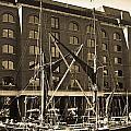 St Katherine's Dock London by David Pyatt