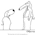 We Do All Those Old Tricks Electronically Now by Charles Barsotti