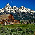 Mormon Row Farmhouse by Walt Sterneman