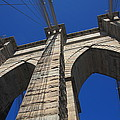 Brooklyn Bridge - New York City1 City by Frank Romeo