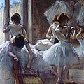 Dancers by Edgar Degas