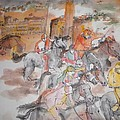Going To Siena For Il Palio Album  by Debbi Saccomanno Chan
