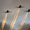 Red Arrows by J Biggadike