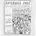 Average Joes by Roz Chast
