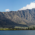 Lake With Mountain Range by Panoramic Images