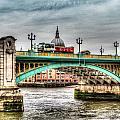 Southwark Bridge London by David Pyatt