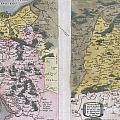 1579 Ortelius Map Of Calais And Vermandois France And Vicinity by Paul Fearn