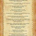 159- The Paradoxical Commandments by Joseph Keane