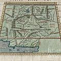 1597 Ptolemy  Magini  Keschedt Map Of Pakistan Iran And Afghanistan by Paul Fearn