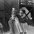 Chicago Children, 1941 by Granger