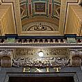 Interior Of St Georges Hall Liverpool Uk by Ken Biggs