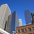 Minneapolis Skyscrapers by Frank Romeo