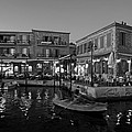 Molyvos Village During Dusk Time by George Atsametakis