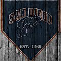 San Diego Padres by Joe Hamilton