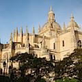 Spain, Castilla Y Leon Region, Segovia by Walter Bibikow