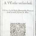 1627 Francis Bacon New Atlantis Frontis by Paul D Stewart