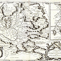 1690 Coronelli Map Of Ethiopia Abyssinia  And The Source Of The Blue Nile Geographicus Abissinia Cor by MotionAge Designs