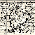 1690 Pennsylvania Map by Bill Cannon