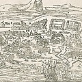 1692 Port-royal Earthquake, Jamaica by British Library